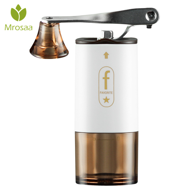 Mini Manual Ceramic Coffee Grinder Stainless Steel Adjustable Coffee Mill with Transparent Body Washable Ceramic Ceramic coreMini Manual Ceramic Coffee Grinder Stainless Steel Adjustable Coffee Mill with Transparent Body Washable Ceramic Ceramic core