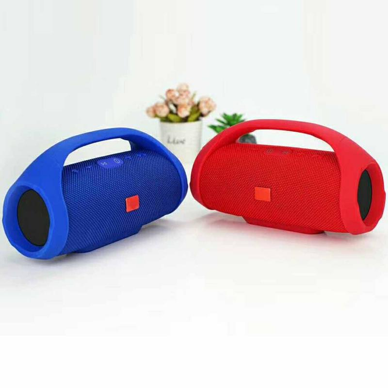 Waterproof Wireless Bluetooth Speaker Portable Professional Outdoor HIFI Column Speaker Subwoofer Sound Box FM Radio TF Mp3