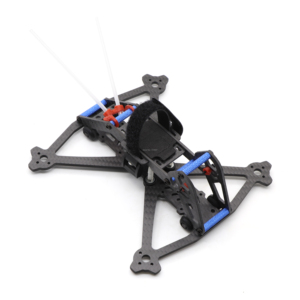 Image 2 - HSKRC Acrobrat 163 163mm 3 inç Mini drone iskeleti kiti desteği 3030 3045 pervane/Runcam bölünmüş Mini kamera