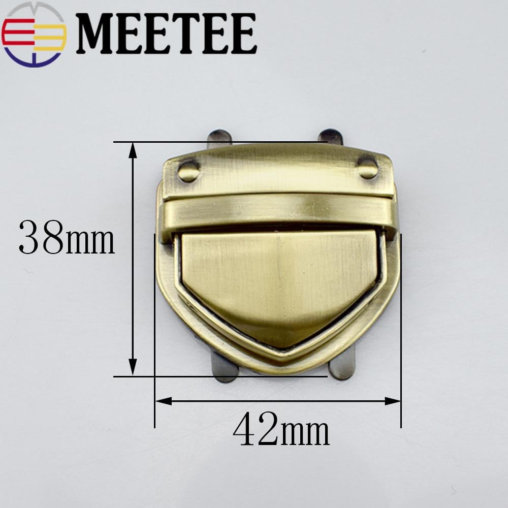 2vnt maišų užraktų įrangos priedai antis liežuvio metalo užrakto jungiklio užraktas E6-15