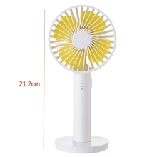 Portable Handheld Mini Fan With Makeup Mirror Battery Usb Rechargeable Office Computer Home And Travel Fan (White ) цены
