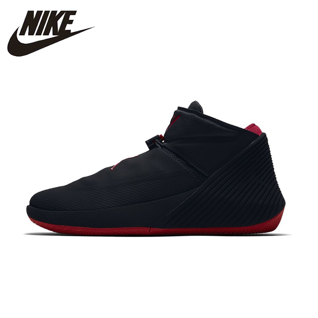 9af2766018f9 NIKE AIR JORDAN Men Basketball Shoes Breathable Stability Support Sports  Sneakers For Men Shoes AO1041-007