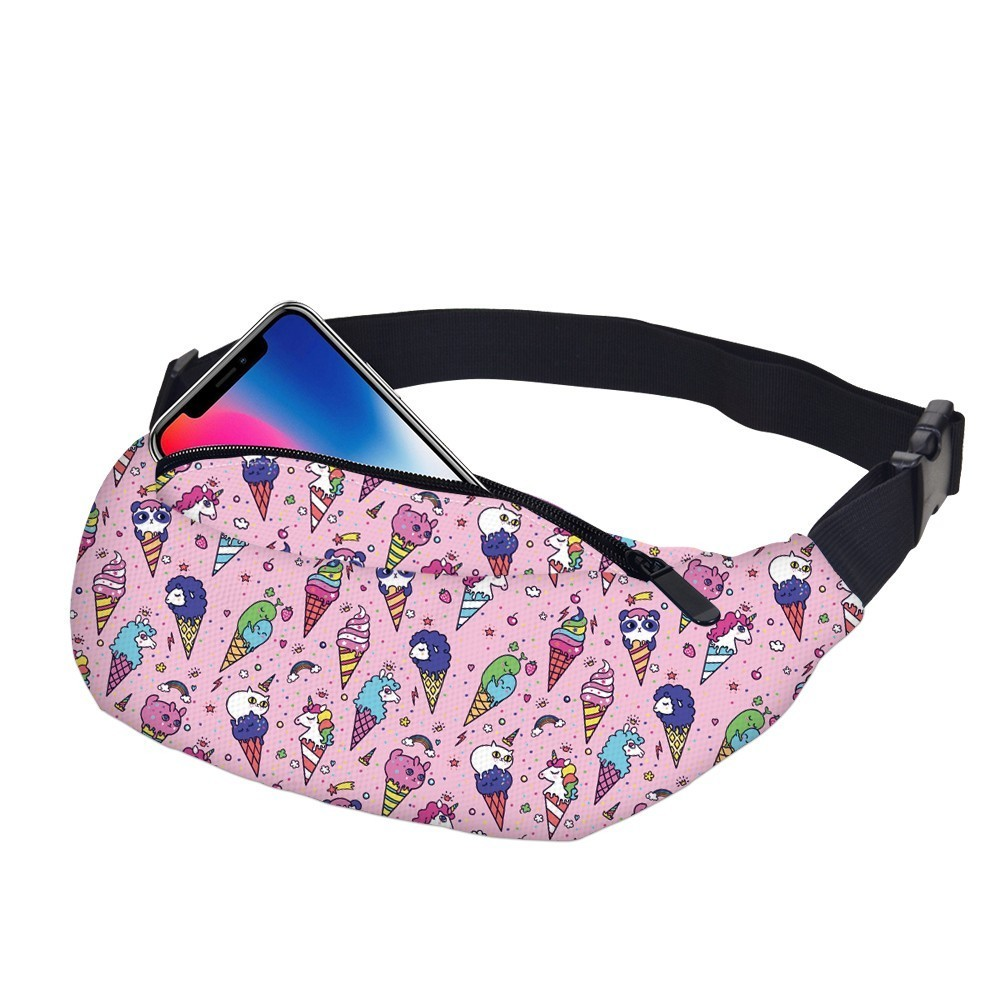 Im A Unicorn I Can Do This Sport Waist Pack Fanny Pack Adjustable For Hike