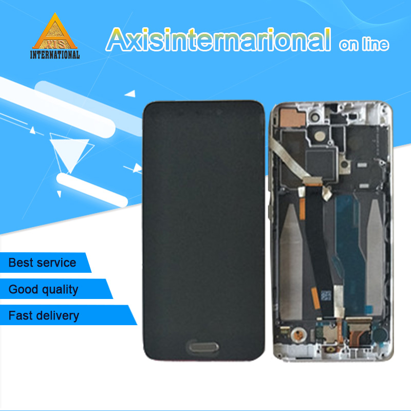 For 5 15 Xiaomi 5 M5 Mi5 Axisinternational LCD screen display with frame touch panel digitizer