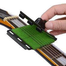 Guitar Bass Cleaning Tool Scrubber Strings Guitar, Square cleaner Cleaner White, Yellow, Red, Green, Black zetton square black green гарнитура ztlshssqu