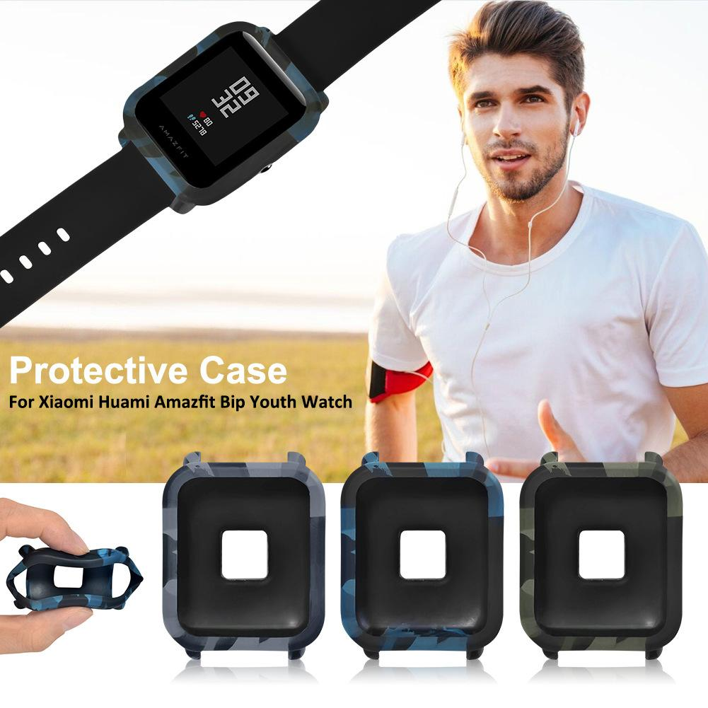 Image 3 - Smart Watch Protector Case Skin Friendly Frame Soft PC Case Cover Protect Case For Xiaomi for Huami Amazfit Bip Youth Watch New-in Smart Accessories from Consumer Electronics