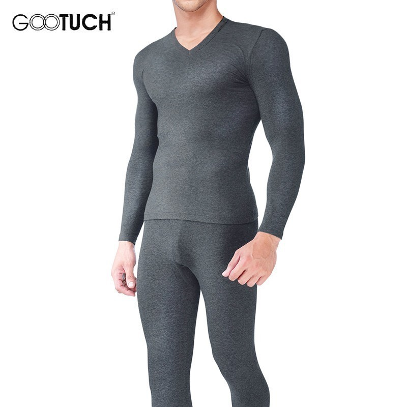 Underwear Pajamas Long-Johns Warm Men Winter Cotton Mens Male Stretch 8945 Plus-Size