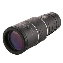 Портативный 16*52 Регулируемый один телескоп полный оптический ночное видение пеший туризм