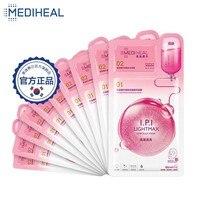 2 Steps Mediheal Skin Rejuvenation Anti Wrinkles Face Mask + Moisturizing Face Cream Shrink Pores Lift Skin Care Korean Cosmetic