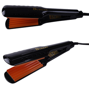 Image 3 - SURKER SK 9201 מקצועי מלחץ קרמיקה גלי Curler קרלינג ברזל שיער Styler חשמלי גלי גל שיער האיחוד האירופי
