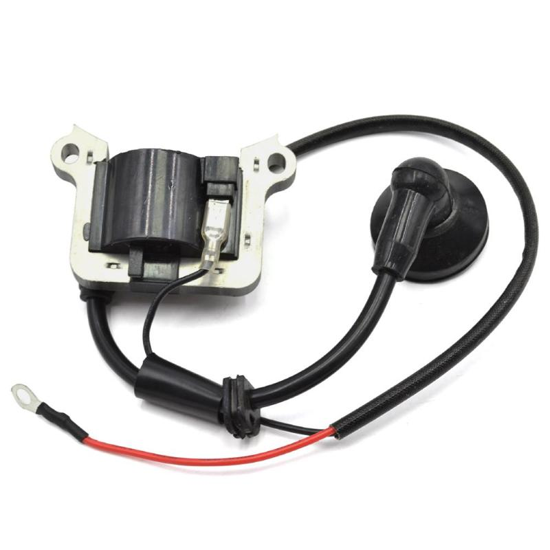 Ignition Coil Magneto Module For 43CC 52CC CG430 CG520 Trimmer Brush Cutter Chainsaw Lawn Mower Parts Garden Tools Accessories
