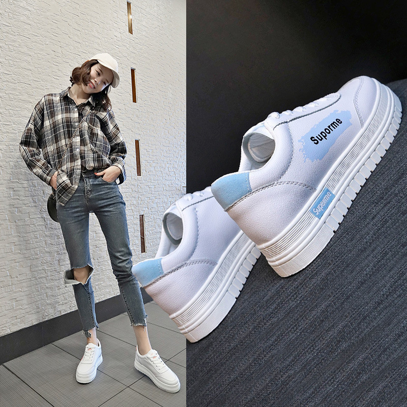 Woman font b Network b font Red Student All match Shoes Casual Shoes Woman Flange Increase