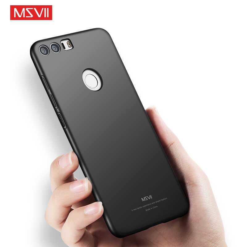 MSVII For Huawei Honor 8 Case Hard Back Slim Coque Phone Cases For Huawei Honor 8 Lite V8 P8 Lite 2017 Scrub Caso Shell