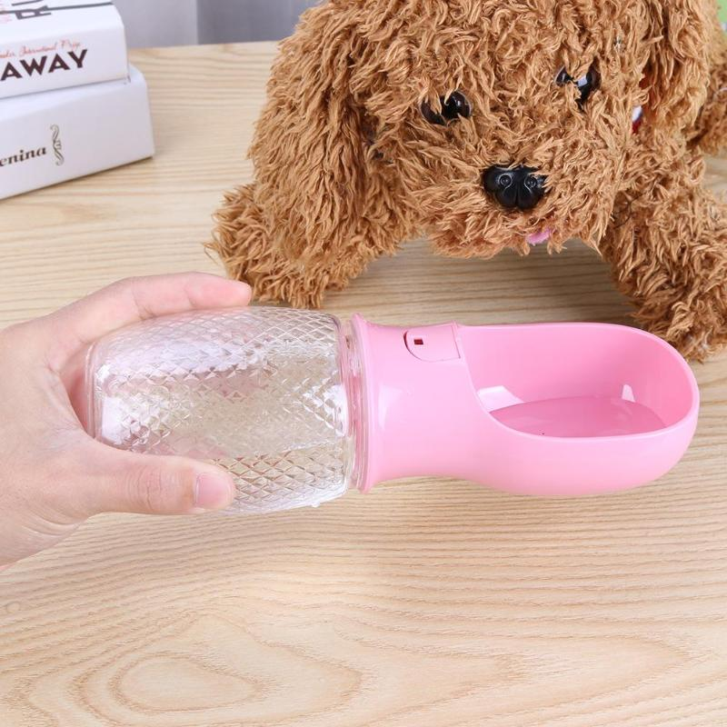 Aliexpress Com Buy 350ml Portable Dog Pet Water Bottle: 350ML Portable Dogs Water Drinking Bottle Automatic