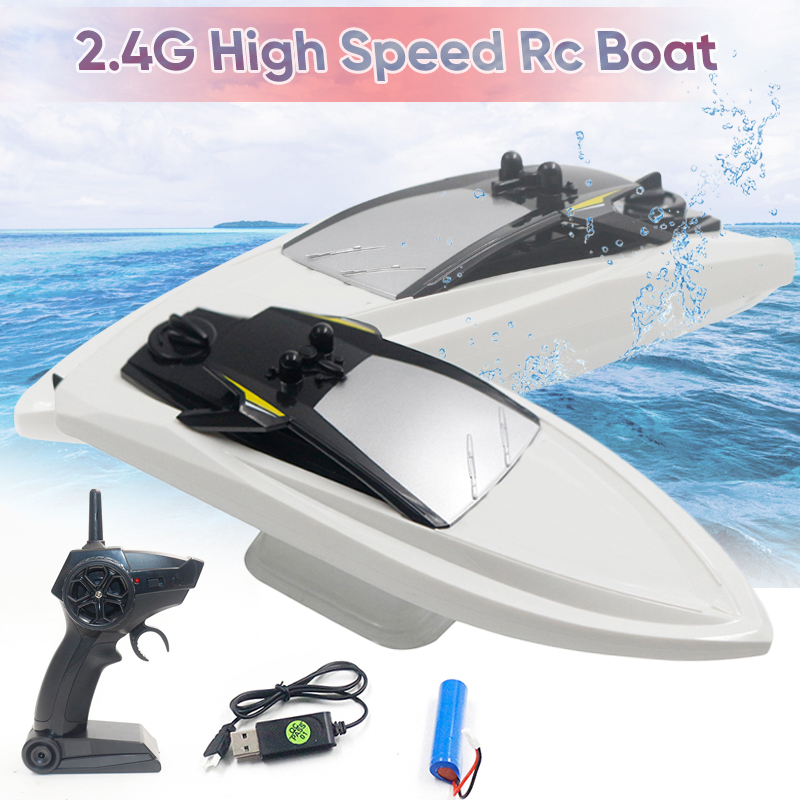 1*Remote Control Boat 2.4G 4CH RC Boat 10km/h Speed Racing Remote Control Airship RC Toys1*Remote Control Boat 2.4G 4CH RC Boat 10km/h Speed Racing Remote Control Airship RC Toys