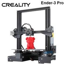 Heißer Creality 3D Ender 3 PRO 3D Drucker Verbesserte Cmagnet Bauen Platte Lebenslauf Stromausfall Druck DIY KIT Meanwell Netzteil