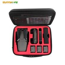 Sunnylife bolsa de transporte protetora para dji mavic 2/mavic pro/mavic ar/faísca zangão caso transporte acessórios