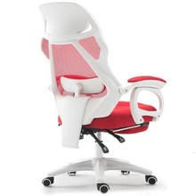 лучшая цена Quality Computer Chair Lumbar Massage Boss Executive Office Chair Mesh Lift Swivel with Retractable Footrest Office Chairs
