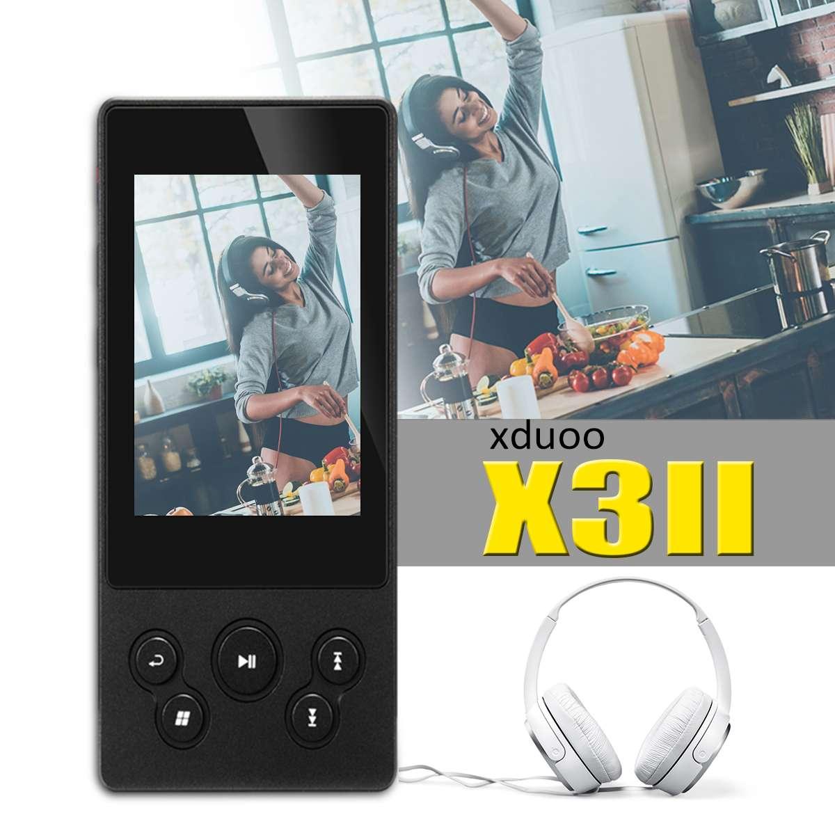 XDUOO X3II X3 II AK4490 USB DAC bluetooth Portable HD lecteur de musique MP3/WAV/FLAC sans perte DSD128 Hiby Link contrôle en ligne