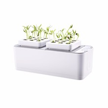 Smart Herb Garden Kit Hydroponic Growing High-end Desk Garden Plants Flower Hydroponics Grow for Indoor Office Hotel Club