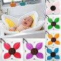 Blooming flor bebé bañera juego baño girasol cojín alfombra infantil suave antideslizante productos para el cuidado del bebé