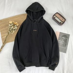 Image 5 - 2019 wiosna nowy nadruk w litery męskie dopasowane kolory Trend Temperament sport randki wysokiej jakości solidny cienki sweter