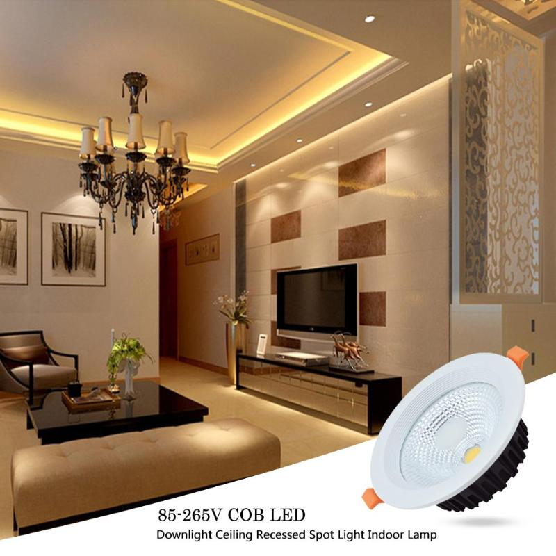 LED Downlight 5W 10W 85 265V COB LED Downlight Ceiling