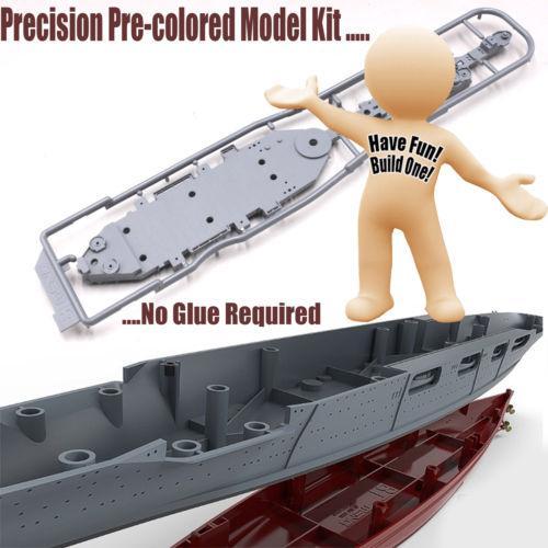 Meng PS-004 1//700 US Navy Battleship BB-63 Missouri Assembly Model//Wooden Deck
