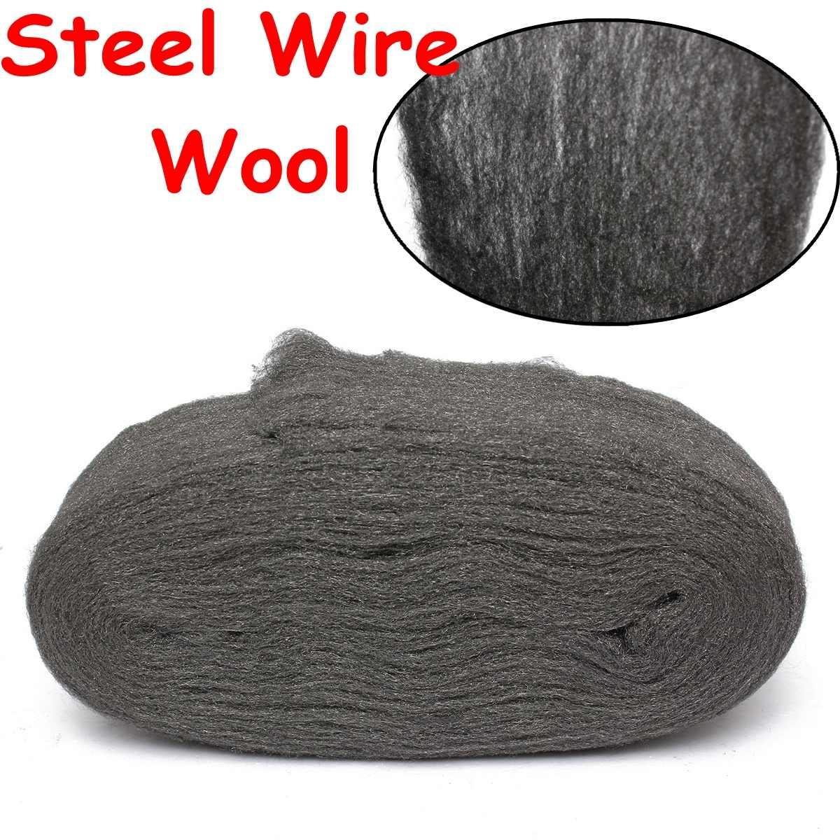 0000 м Новый стальная проволока шерсть класса 3,3 для полировки очистки удаления не осыпается
