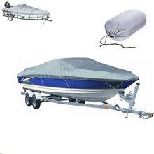 300D чехол для катера на катере, ткань Оксфорд, водонепроницаемый, УФ, Пыленепроницаемый Чехол для катания на лыжах, катера для катания на лыжах, 11-22 фута, Катер
