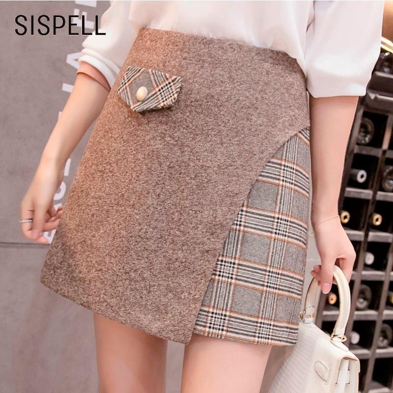 8b5465738 Buy irregular skirts plaid and get free shipping on AliExpress.com