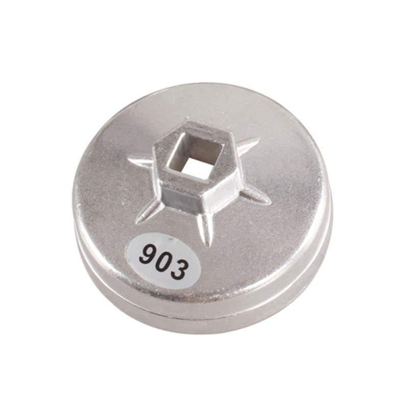 Aluminum Oil Filter Wrench Socket Remover Tool 74mm 14 Flute 903 For Bmw For Audi For Benz