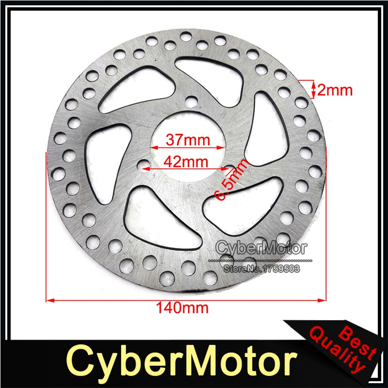 37mm 140mm Brake Disc Rotor For 2 Stroke 47cc 49cc Engine