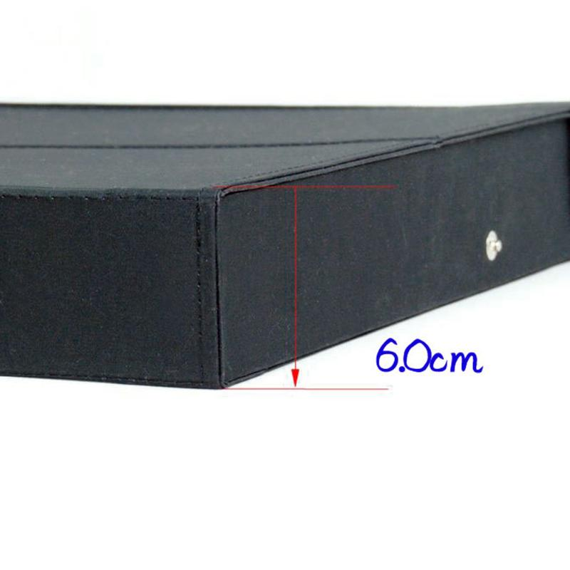 Image 5 - 18 Sunglasses Glasses Retail Shop Display Stand Storage Box Case Tray Black Sunglasses Eye wear Display Tray Case Stand hot saleEyewear Accessories   -