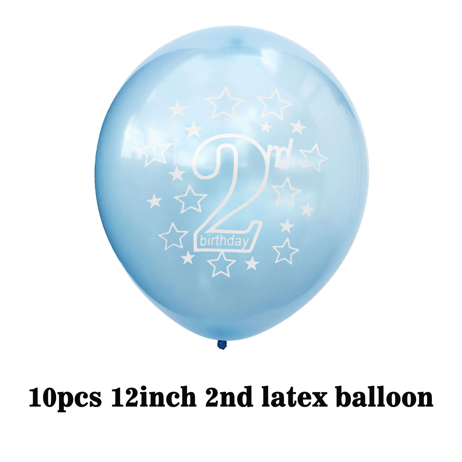 AGE 2 BIRTHDAY BANNERS BOY AND GIRL PARTY DECORATIONS FOR 2ND Celebrations Occasions Home