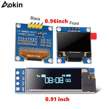 Oled-Module Case Raspberry Pi 128X64 LCD White for with Blue-Color IIC I2C Serial