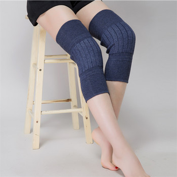 Cashmere Wool Knee Pads Sleeves Winter Keep Warm For Legs Thick Long Knee Sleeve For Women Men Old Men Autumn Sock Free Shipping