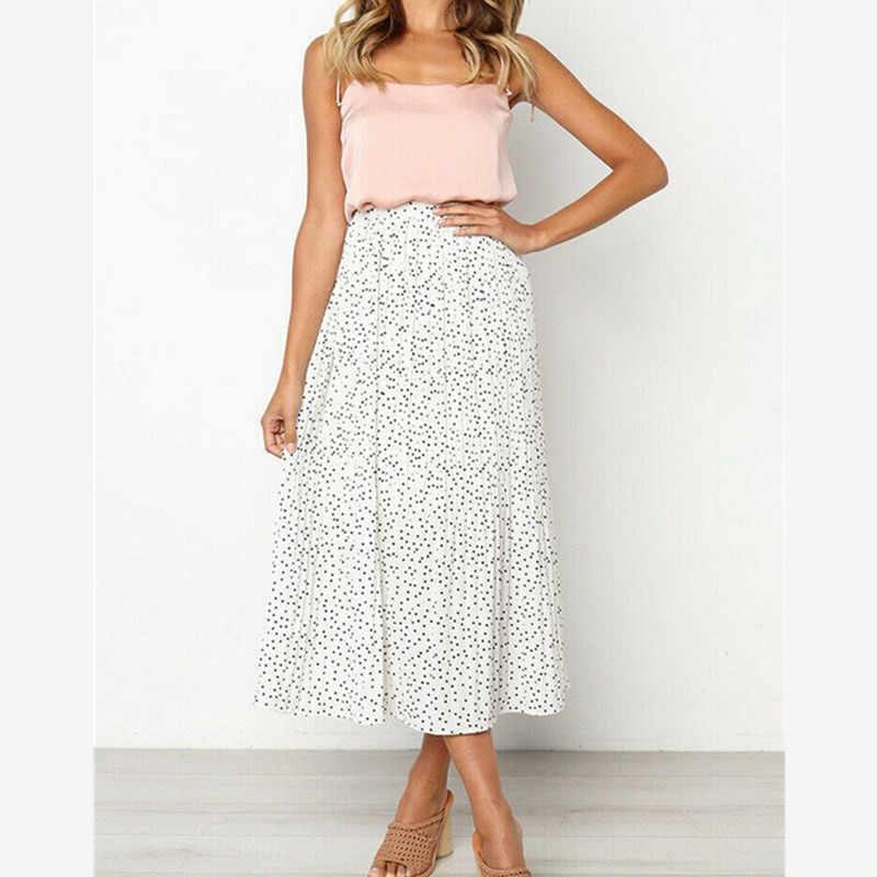 2019 женские летние эластичные плиссированные юбки женские модные облегающие юбки с высокой талией трапециевидные юбки многоцветные женские повседневные