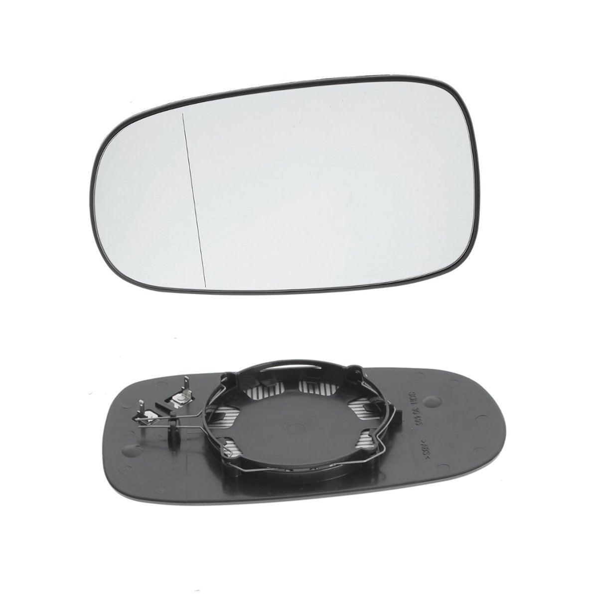 Aspherical Heated Left Wing Side Mirror Glass Fits SEAT SKODA VW Tiguan 2007