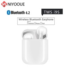 Bluetooth Earphone i9s ifans Tws Mini Wireless Headphone Earbuds V4.2 Stereo With Mic for iphone 6 7 8 PLUS X Android