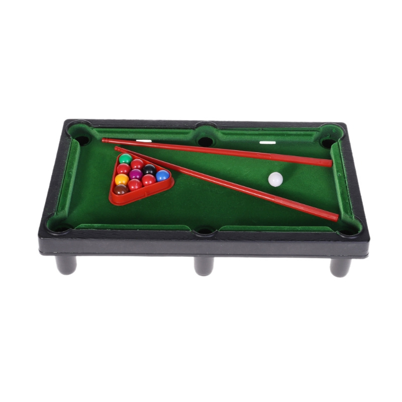 FBIL-Mini Desktop Billiards Toy Outdoor Games Mini Tabletop Whole Family Pool Set Parent-Child Interaction Kids Toy