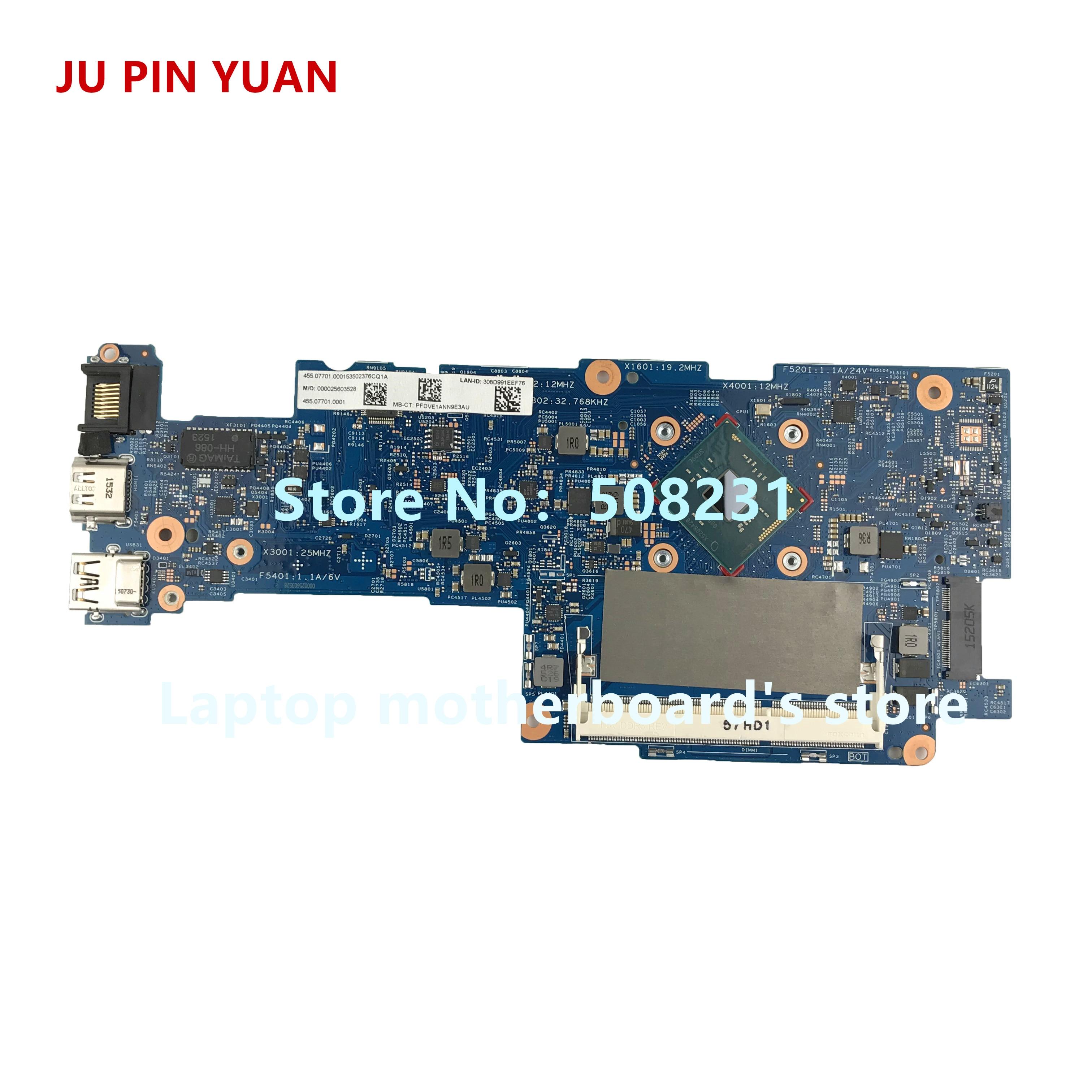 JU PIN YUAN 828895-601 mainboard for HP Pavilion 11-K x360 Convertible 11-k 11-K128CA motherboard with PentN3700 fully TestedJU PIN YUAN 828895-601 mainboard for HP Pavilion 11-K x360 Convertible 11-k 11-K128CA motherboard with PentN3700 fully Tested