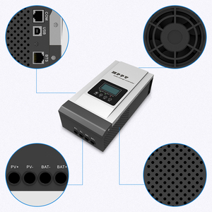Image 5 - MPPT Solar Controller 80A 12V/24V/48V Solar Charger Battery 36V setting Charger Max 150VDC Back light LCD Solar Regulator