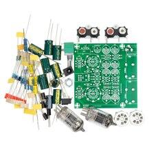 Placa De Áudio Amplificadores valvulados Preamp Amplificador Pré-Amp Audio Mixer Válvula 6J1 Bile Buffer Kits Diy