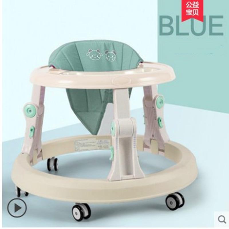 Baby Walker 6/7-18 Months Anti - O - Leg Boy Baby Girl Trolley Multi - Function Anti - Rollover