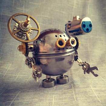 Steampunk-Metal-Robotics-Kits-DIY-Hobby-Tools-Toy-Model-Assembly-Gizmo-Creative-Gift-Free-Shipping
