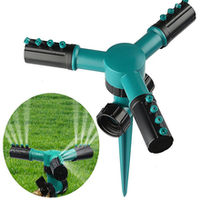 1pc ABS Lawn Sprinkler Automatic 360 Rotating Garden Water Sprinklers Irrigation