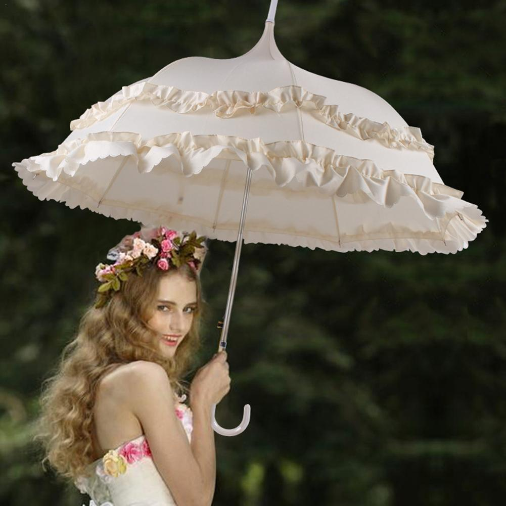 Vintage 1850's Princess Lace Bridal Umbrellas Shower ...