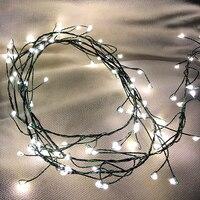 Dark Green fairy firecrackers lights 61 Length ,100 LEDs copper light string garland lighting chain xmas tree light party