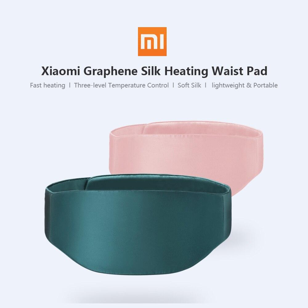 Xiaomi グラフェンシルク発熱腰パッド女性腹部ウォーマーマッサージツール加熱期間疼痛緩和腰椎デバイス健康ケア  グループ上の 家電製品 からの スマートリモコン の中 1
